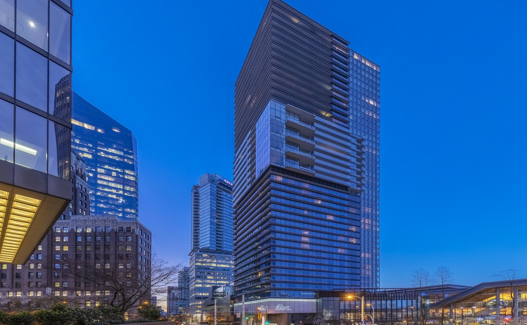 2406 - 1011 W Cordova Street, Coal Harbour, Vancouver West